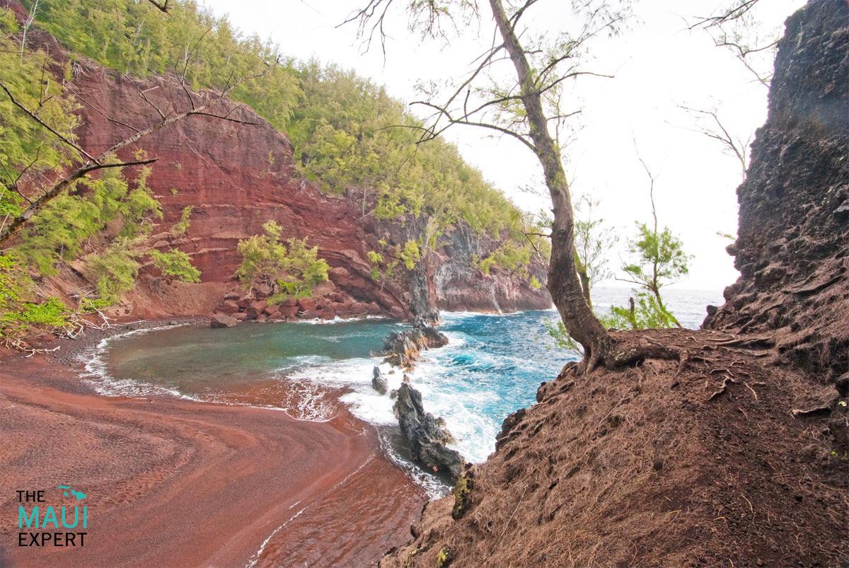 Red Sand Beach Kaihalulu Maui.jpg