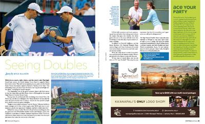 Doubles Tennis Camp