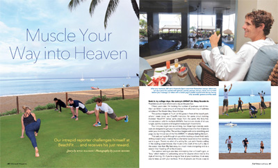 Beach Fit and Heavenly Spa