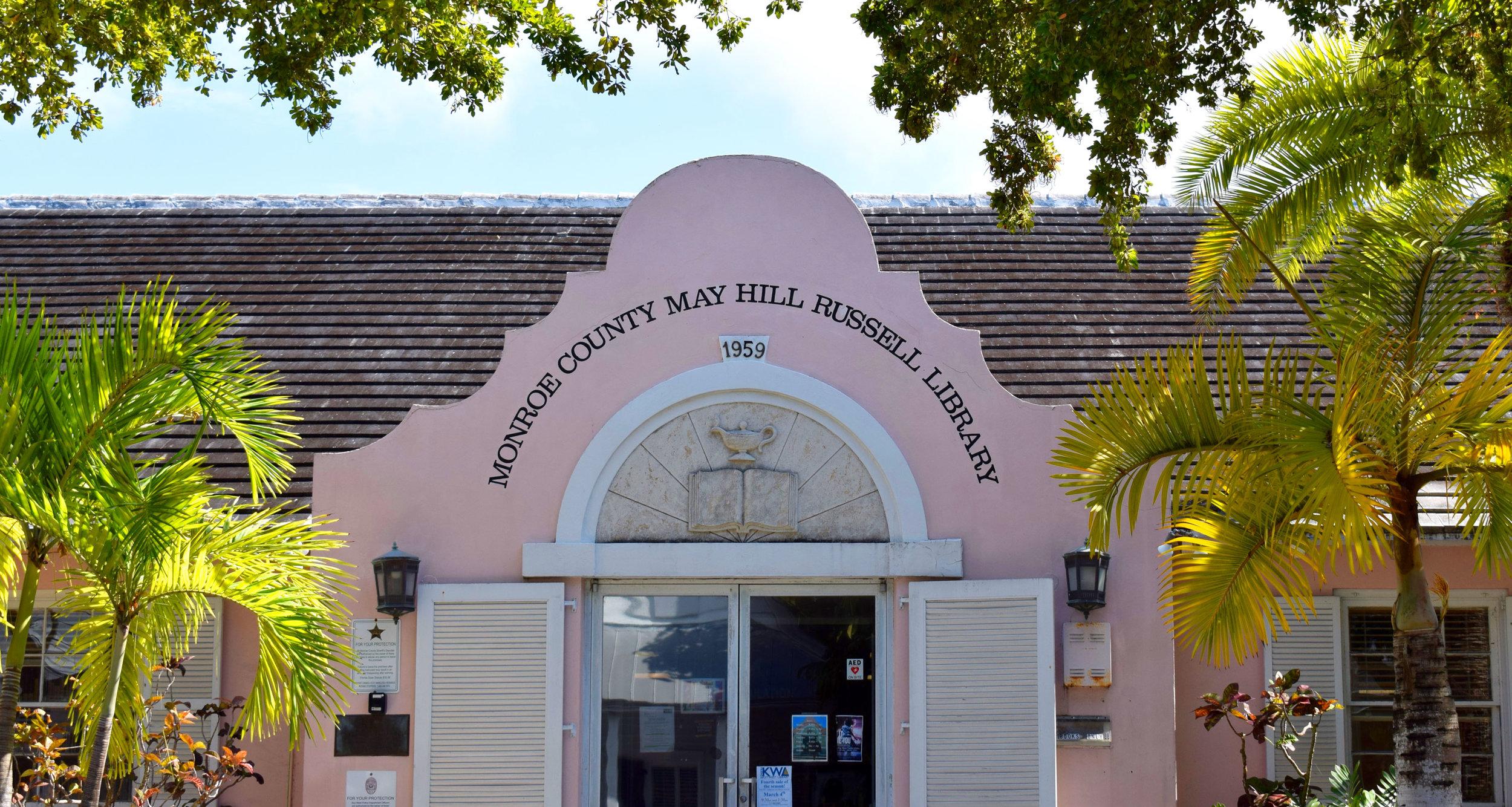 Key West Library, photo by Freya Hendrickson.