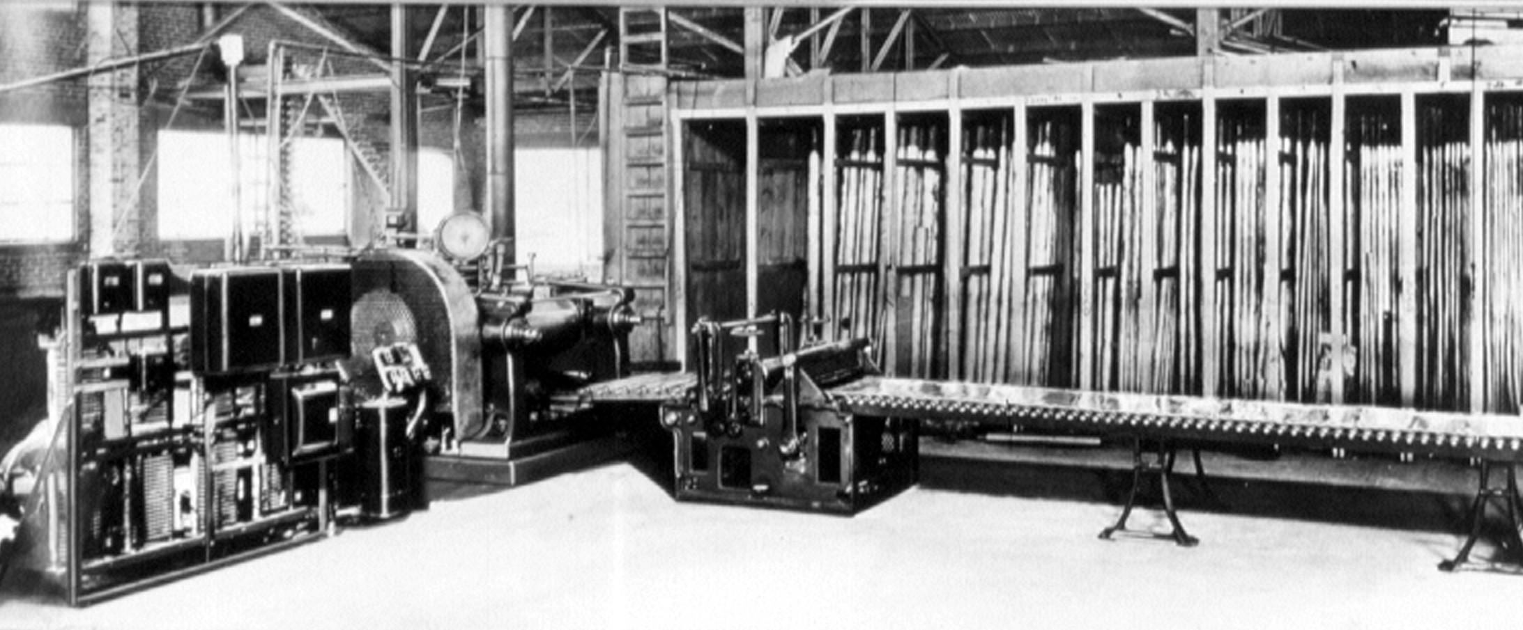 Original continuous strip casting line