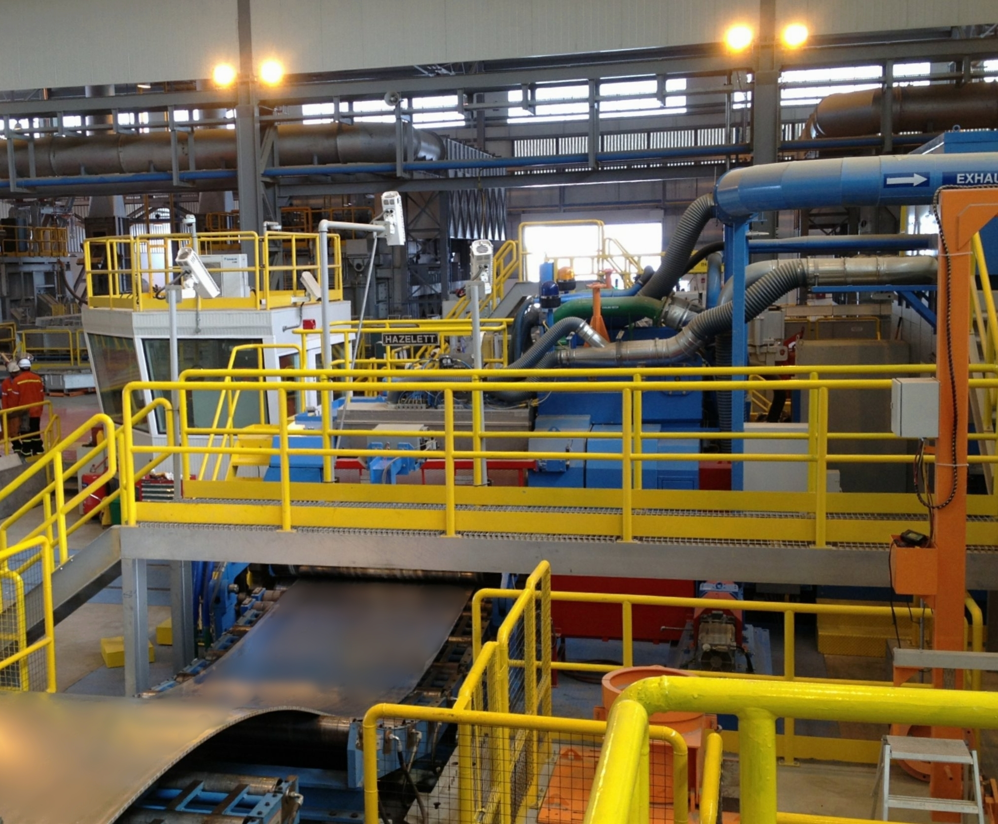 Hazelett AS2000 at Oman Aluminum Rolling Company