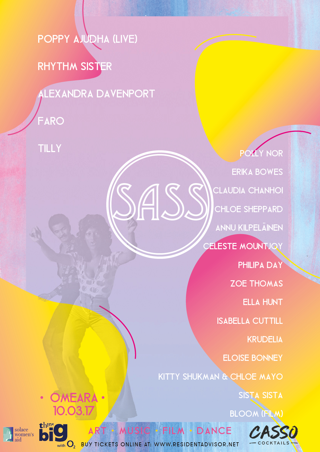SASS Event - Poster and Promotional Material Design - 2017
