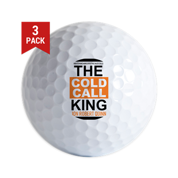 The Cold Call King Golf Ball  $10.79