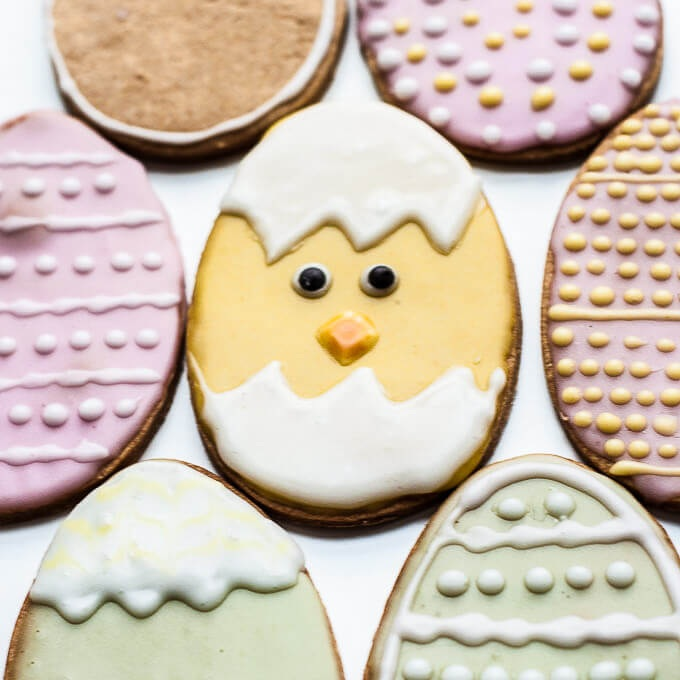 Easter Sugar Cookies  - always a crowd pleaser! Check out this simple and delicious recipe from  Vegan Family Recipes  to help channel your inner Easter Bunny.