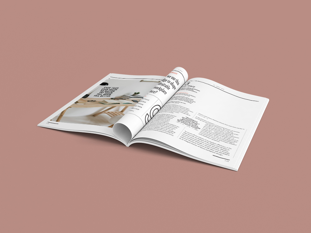 """Main """"research magazine"""" - The main research paper is published in a 300-page """"research magazine"""". It has been purposefully designed and written to be accessible, unpretentious, and fun to skim or read in its entirety.Skim it here."""