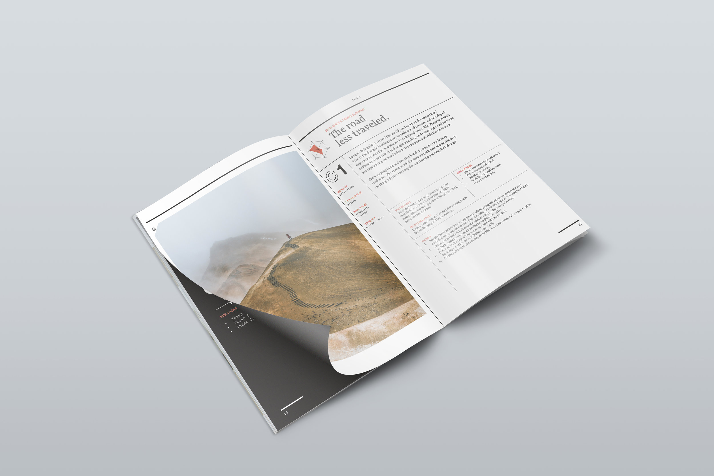 Trends booklet - This booklet takes a look at key trends actively shaping the future world of work, workers, and workplaces. They are organized according to their macro-trends (drivers of change).Find it here.