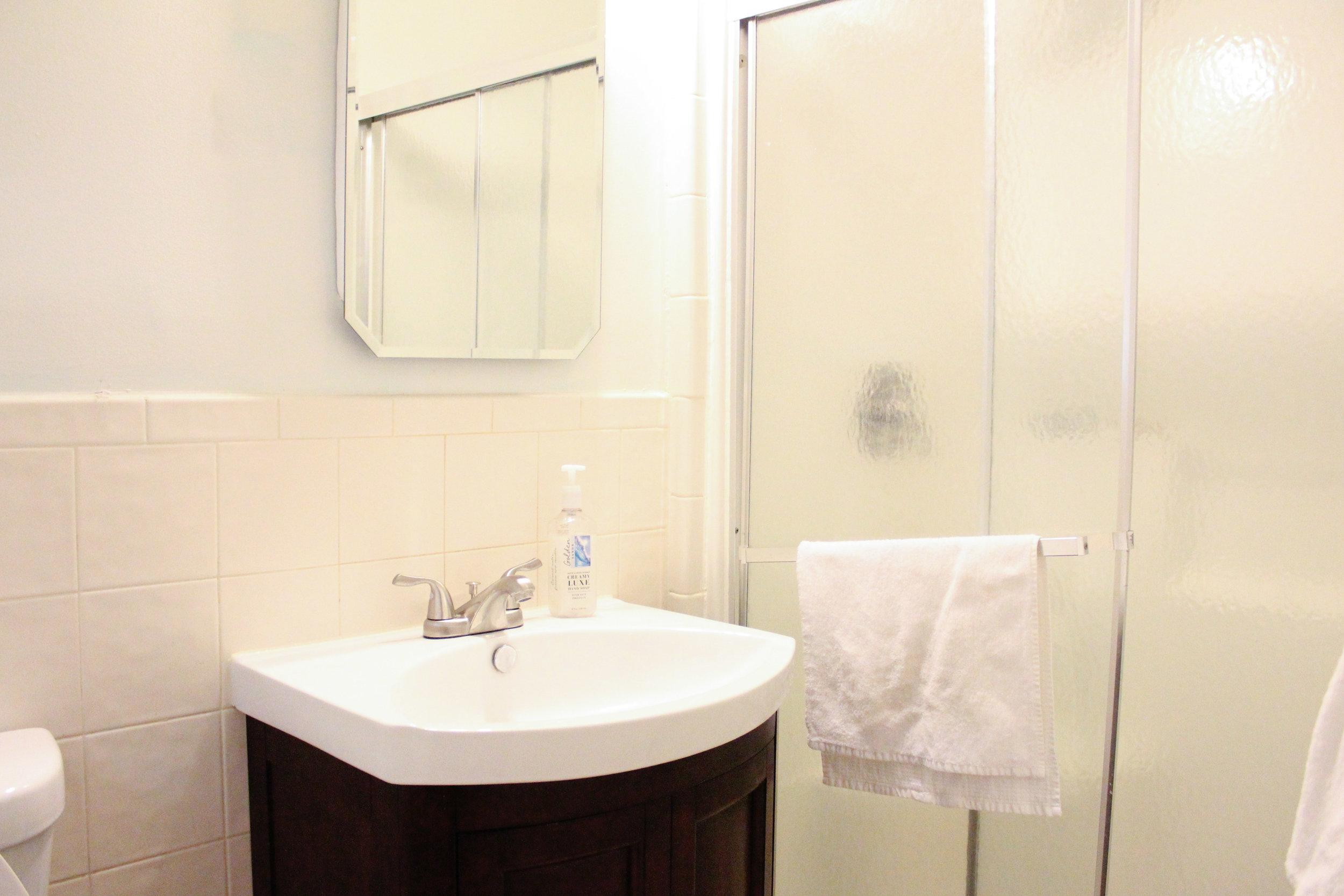 Master Bath - currently unrenovated
