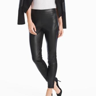 WHBM Leather Leggings