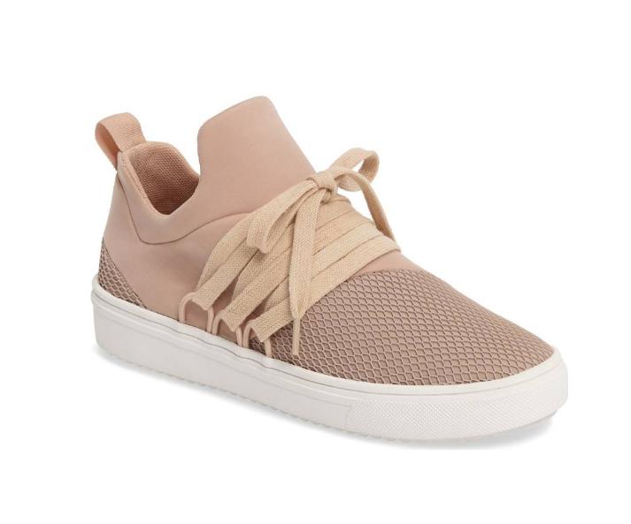 Pink Steve Madden Sneakers | Demure Fashion Blog
