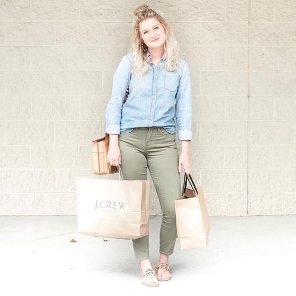 Chambray Shirt | Demure Fashion Blog