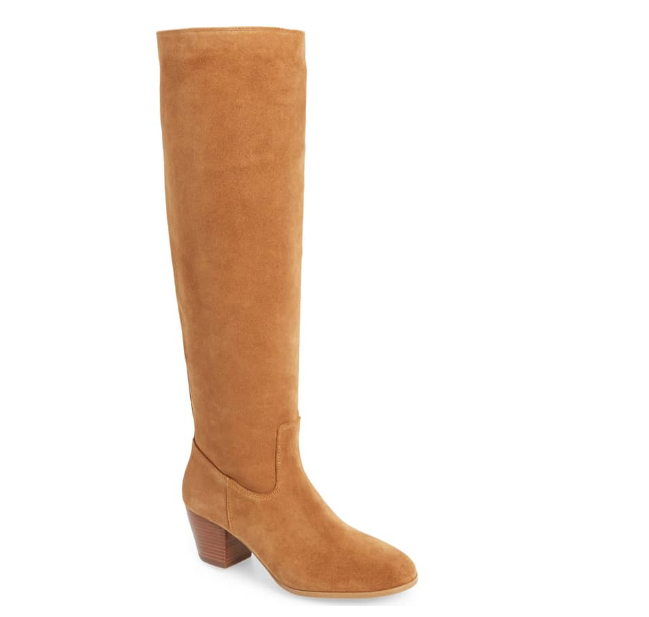 Camel Boots - I search for so long, and so hard for the perfect pair of camel colored boots each year… They are the pair of shoes I will spend the majority of my Fall and Winter in. They are the shoes I will reach for more than any other! Because they are so important to me, I'm so picky about them, and I usually end up having to go with a more expensive pair. This year was no exception, but I'm so stinking happy with the pair I've chosen!!!!! These Michael Kors beauties are to die for! I went with the size 8 for these, because, you know… Socks are a must in the Winter:) I'm in love with the fit, the color, the suede, the heel height, the amount of slouch, and the fact that there's no zipper! There's nothing about these boots that I would change! I know they're a little pricey, but I promise they are worth every penny!! I've linked them from Nordstrom for those of you that may have Nordstrom cash to lessen the blow to your bank account. You won't regret these!