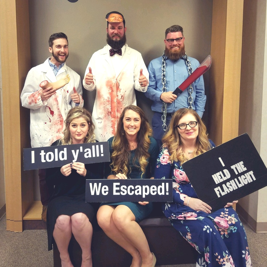 Aiken 2 Escape - Have you ever done an escape room!? I think the brain workout in fun!! And this one in Aiken isn't a chain… Its owned by a husband and wife, and they come up with the rooms, puzzles, tricks, and thrills THEMSELVES!!! So, if you're going to go to one (there are like 5 in our area), you should make the drive to this one!! #shopsmall #shoplocal