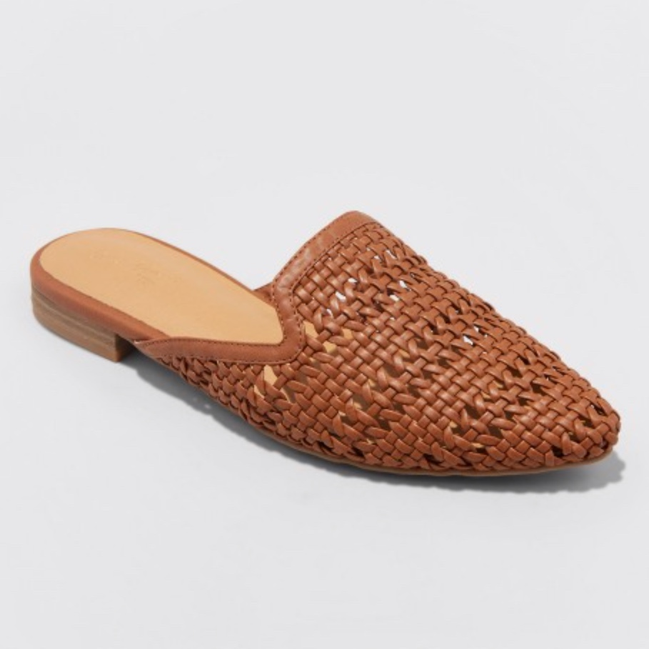 Woven Mules - These are making me so ready for Summer! I'm loving wearing them with casual shirts and a straw hat, linen pants, paired with my straw purse, or other Summery pieces! They would actually be so great with your bathing suit and cover-up for the beach!! They fit absolutely true to size, and had no break-in period! They are super cheap, and are truly perfect for Summer! Get these babies!!