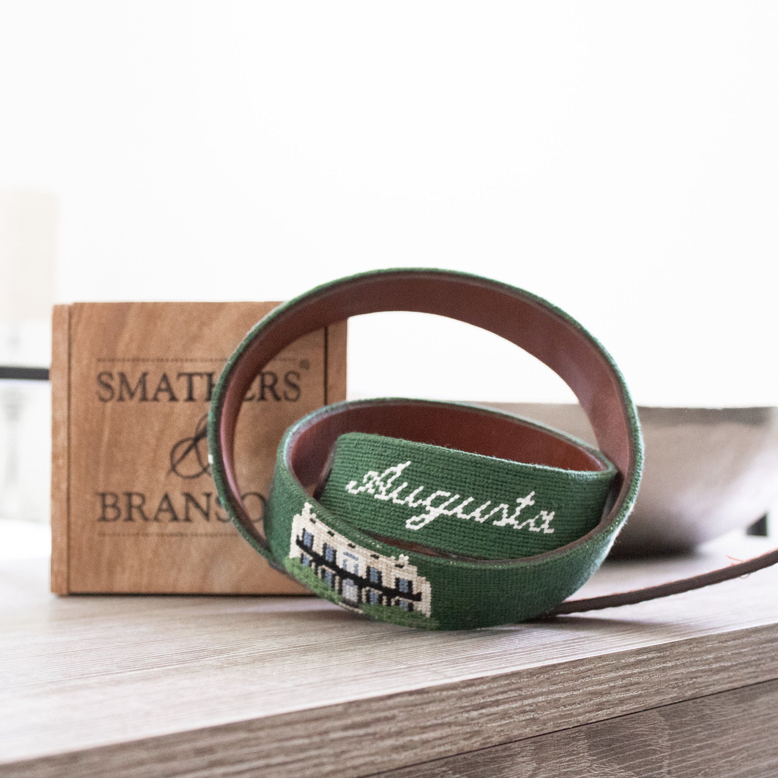 Smathers & Branson Custom Low Country Clothier Augusta Belt
