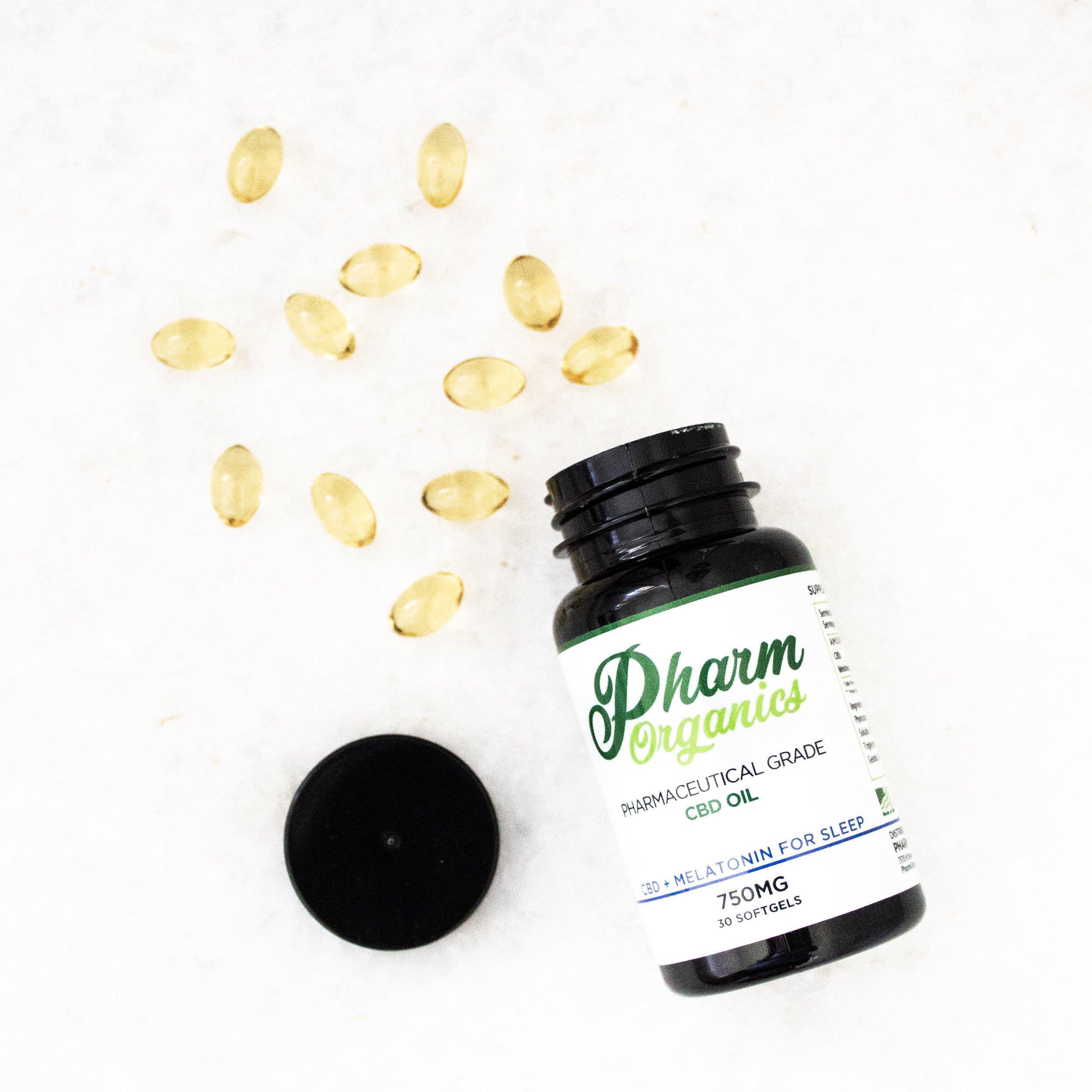 CBD Oil + Melatonin Sleep Aid by PharmOrganics | A Demure Life Fashion Blog