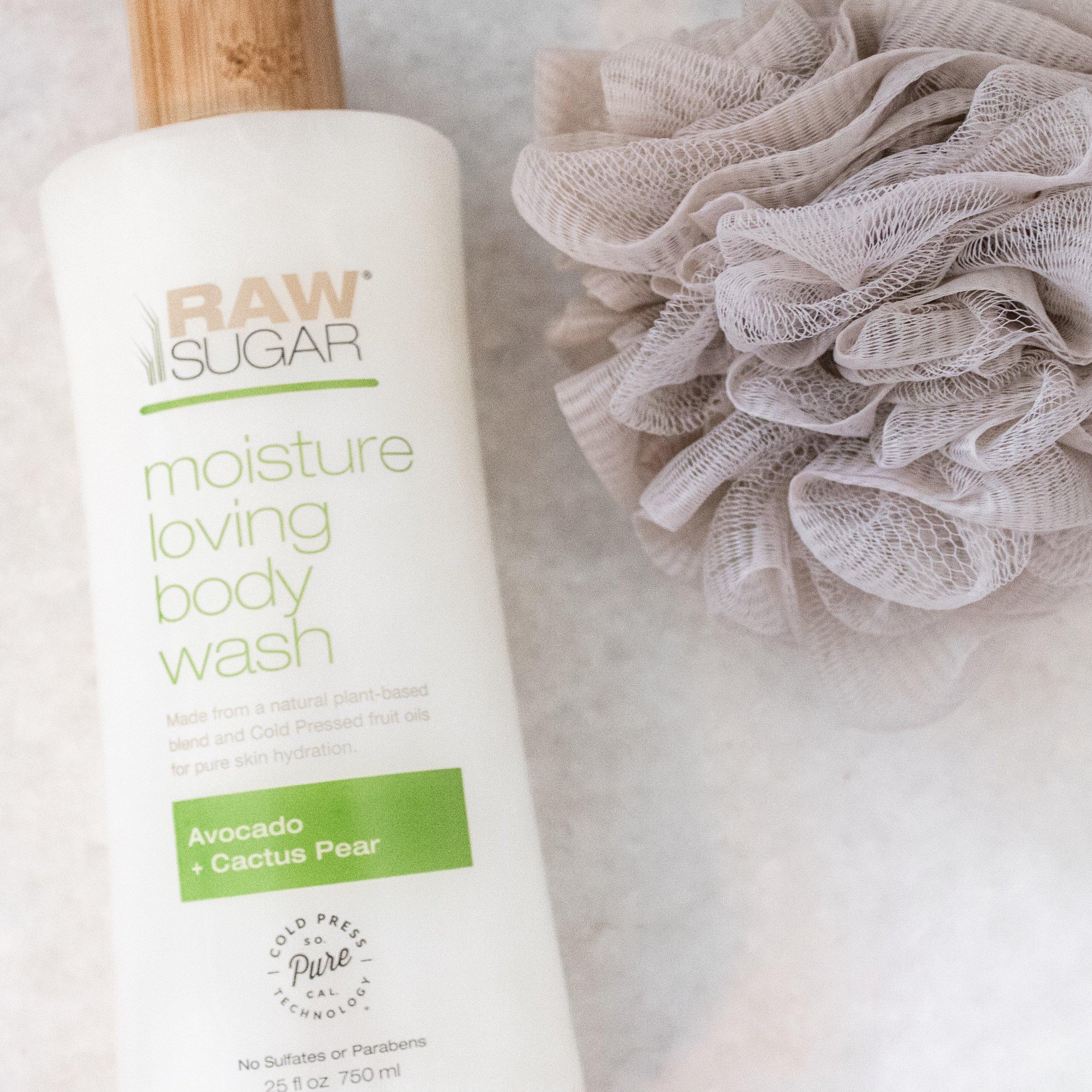 Raw Sugar Body Wash | A Demure Life Fashion Blog