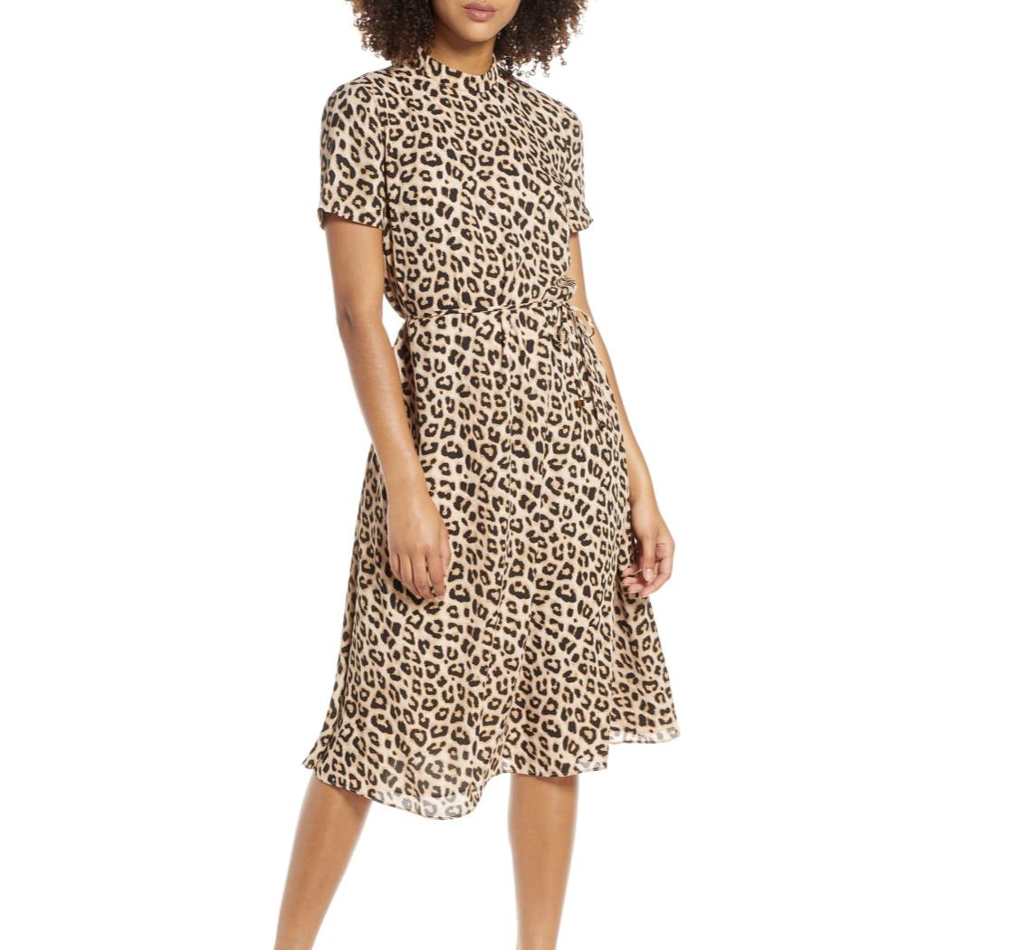 Leopard Print Dress | Nordstrom Anniversary Sale 2019 | A Demure Life Fashion Blog