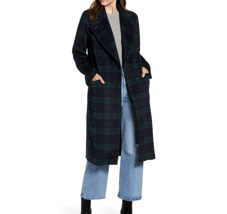 Tartan Plaid Coat | Nordstrom Anniversary Sale 2019 | A Demure Life Fashion Blog