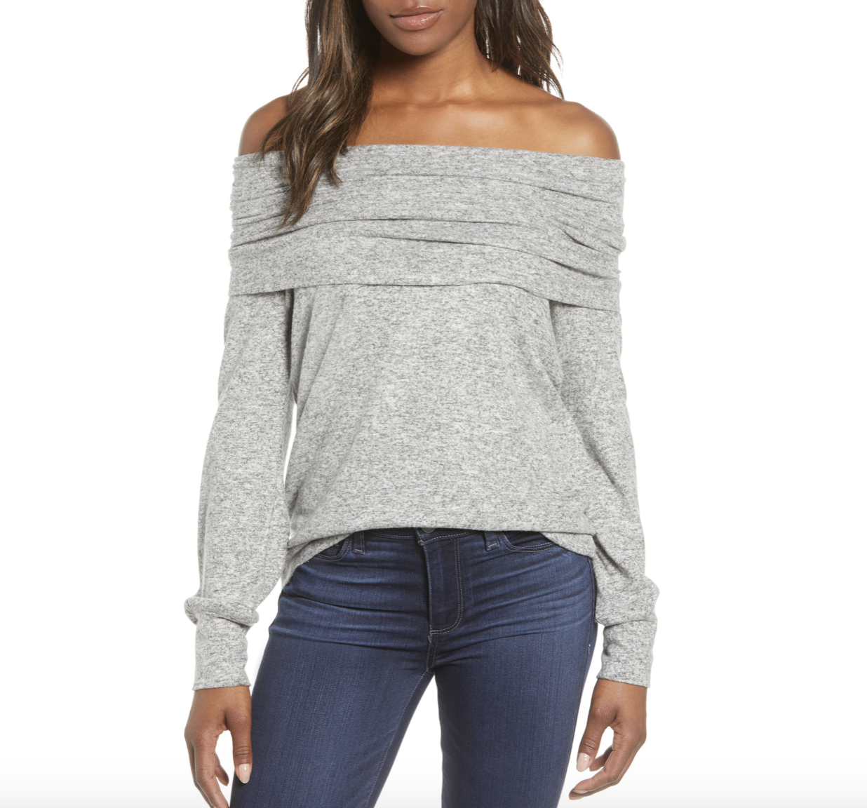 Off the Shoulder Sweater | Nordstrom Anniversary Sale 2019 | A Demure Life Fashion Blog