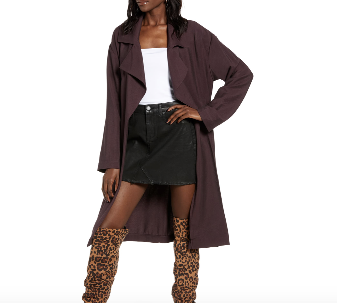 Plum Colored Trench Coat | Nordstrom Anniversary Sale 2019 | A Demure Life Fashion Blog