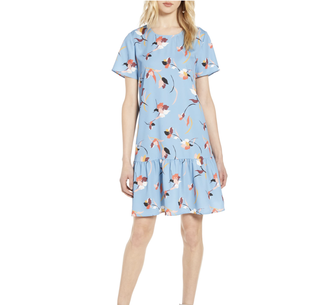Floral Dress for Summer to Fall | Nordstrom Anniversary Sale 2019 | A Demure Life Fashion Blog