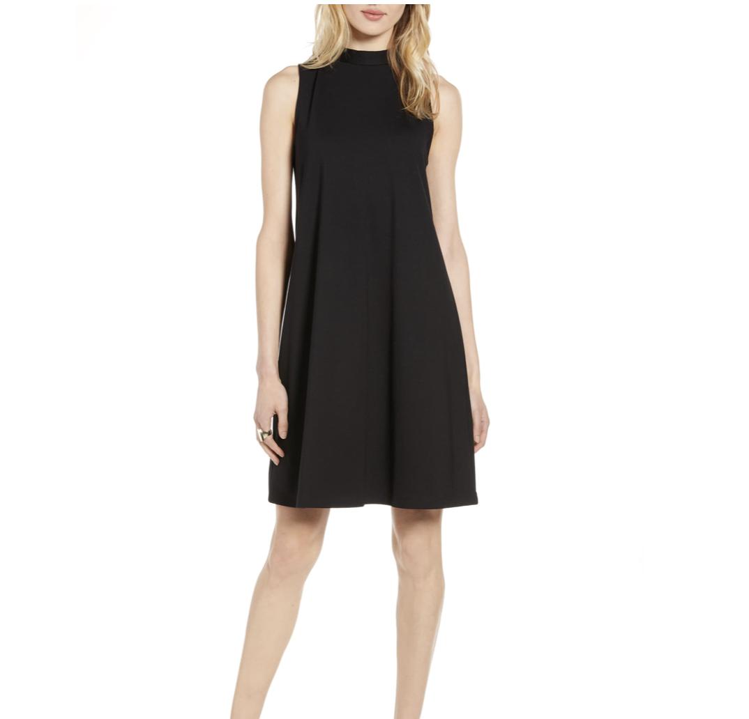 Black Trapeze Dress | Nordstrom Anniversary Sale 2019 | A Demure Life Fashion Blog