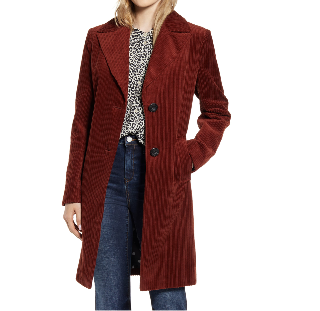 Red Corduroy Jacket | Nordstrom Anniversary Sale 2019 | A Demure Life Fashion Blog