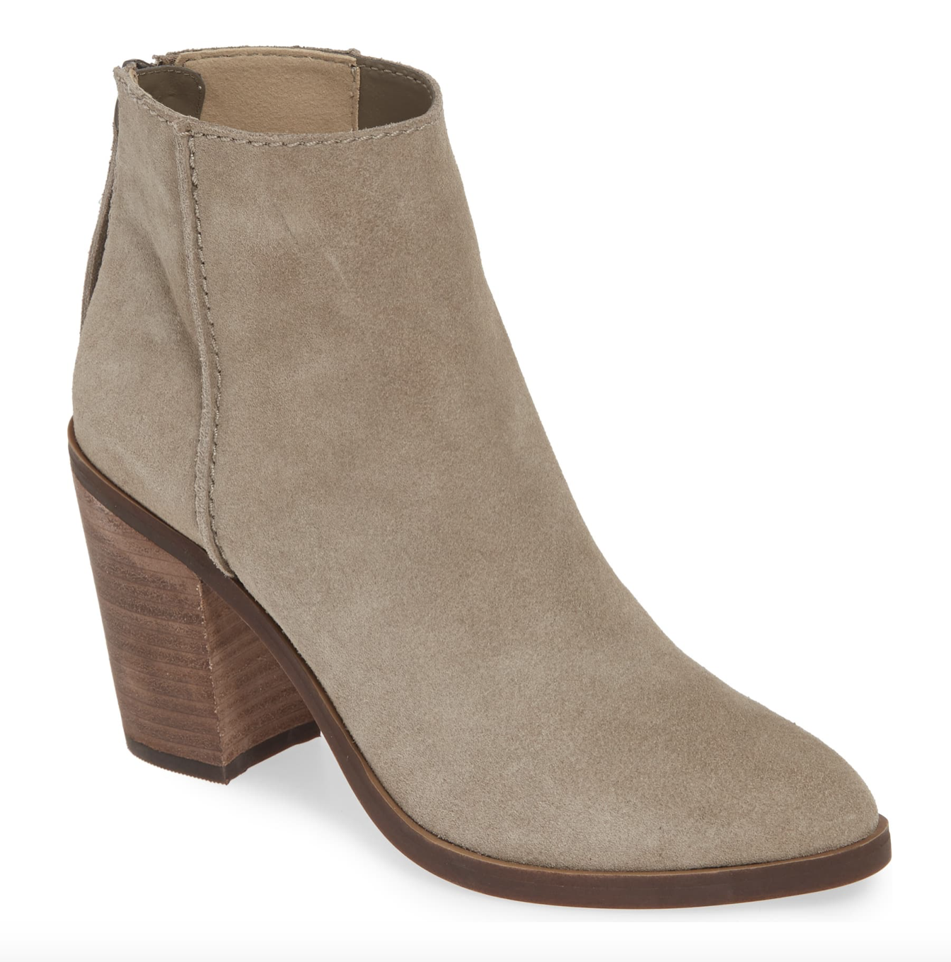 Tan Suede Booties | Nordstrom Anniversary Sale 2019 | A Demure Life Fashion Blog