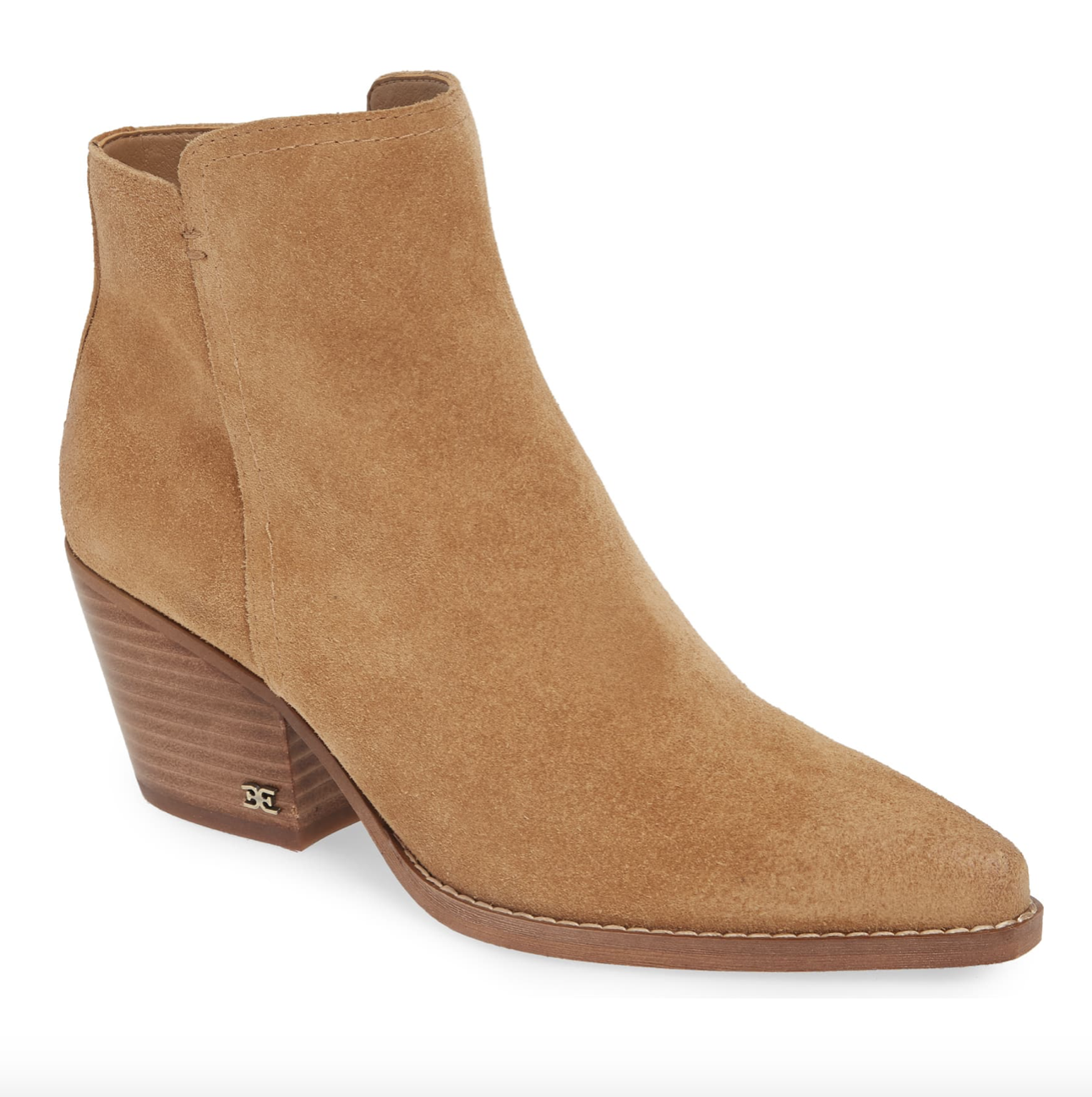 Camel Booties | Nordstrom Anniversary Sale 2019 | A Demure Life Fashion Blog