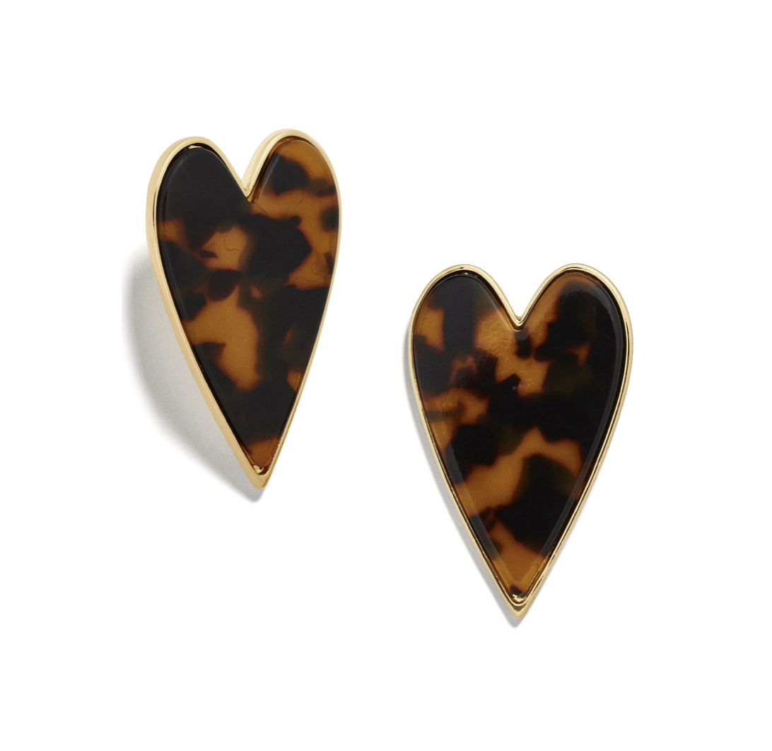 Tortious Shell Heart Stud Earrings | Nordstrom Anniversary Sale 2019 | A Demure Life Fashion Blog