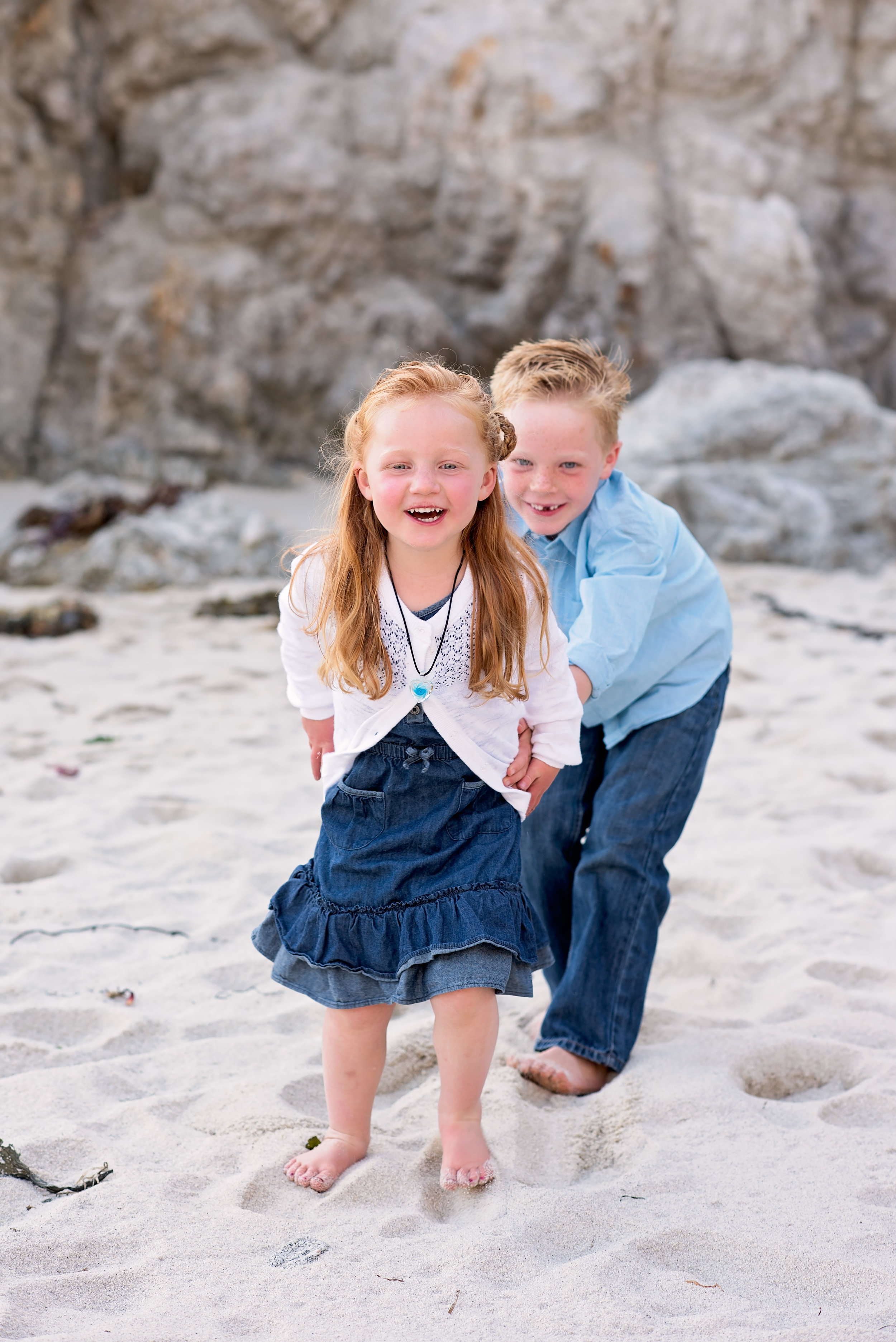 Brother and Sister, Carmel, Ca