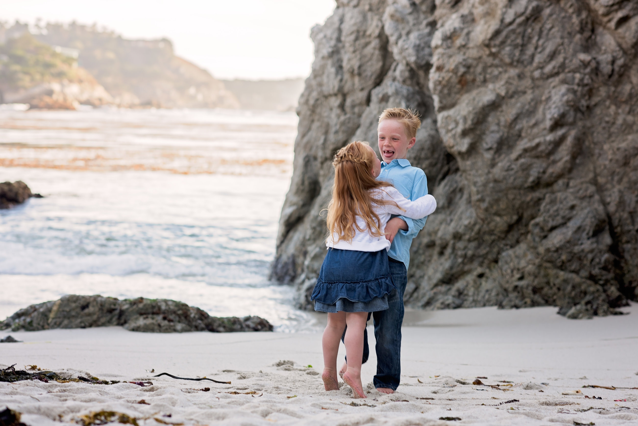 Candid Family Pictures, Monterey, Ca