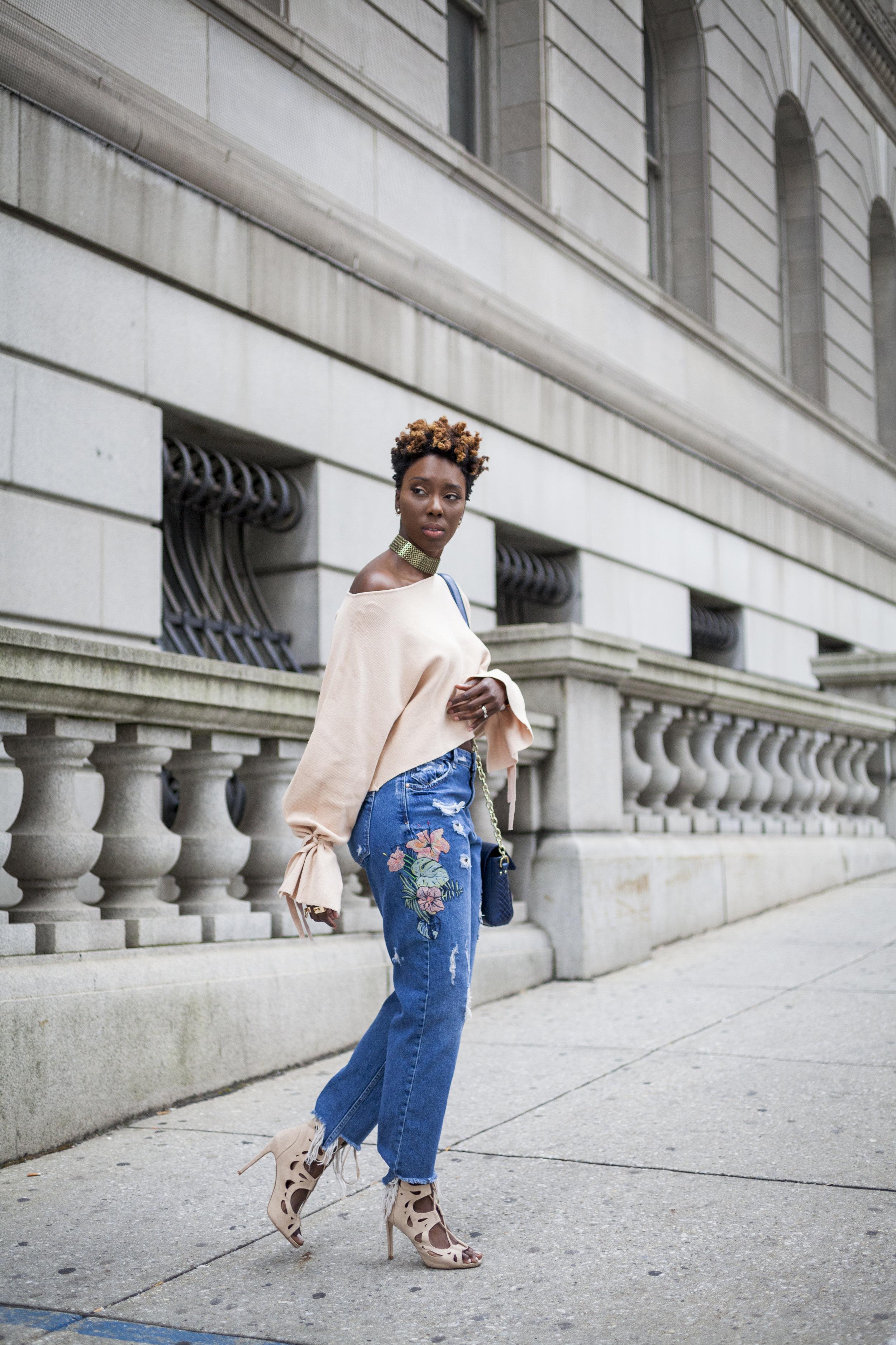 Dayna-Bolden-zara-off-the-shoulder-top-detail-sleeves-zara-patched-denim-jeans-11.jpg