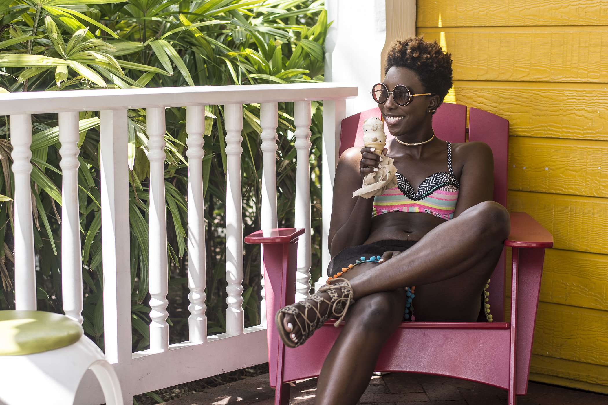 swimsuit-Dayna-Bolden-African-American-Travel-Blogger-Bahamas-Travel-icecream1.jpg
