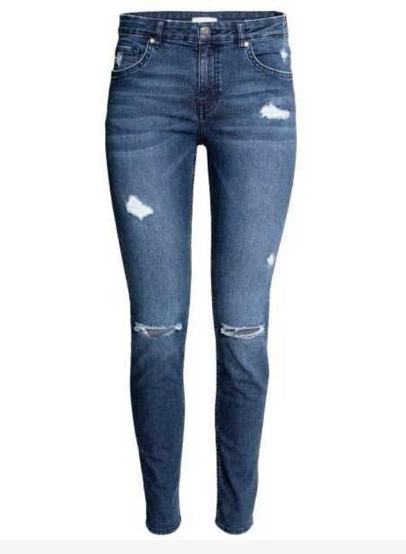 HM Distressed Skinny Jeans