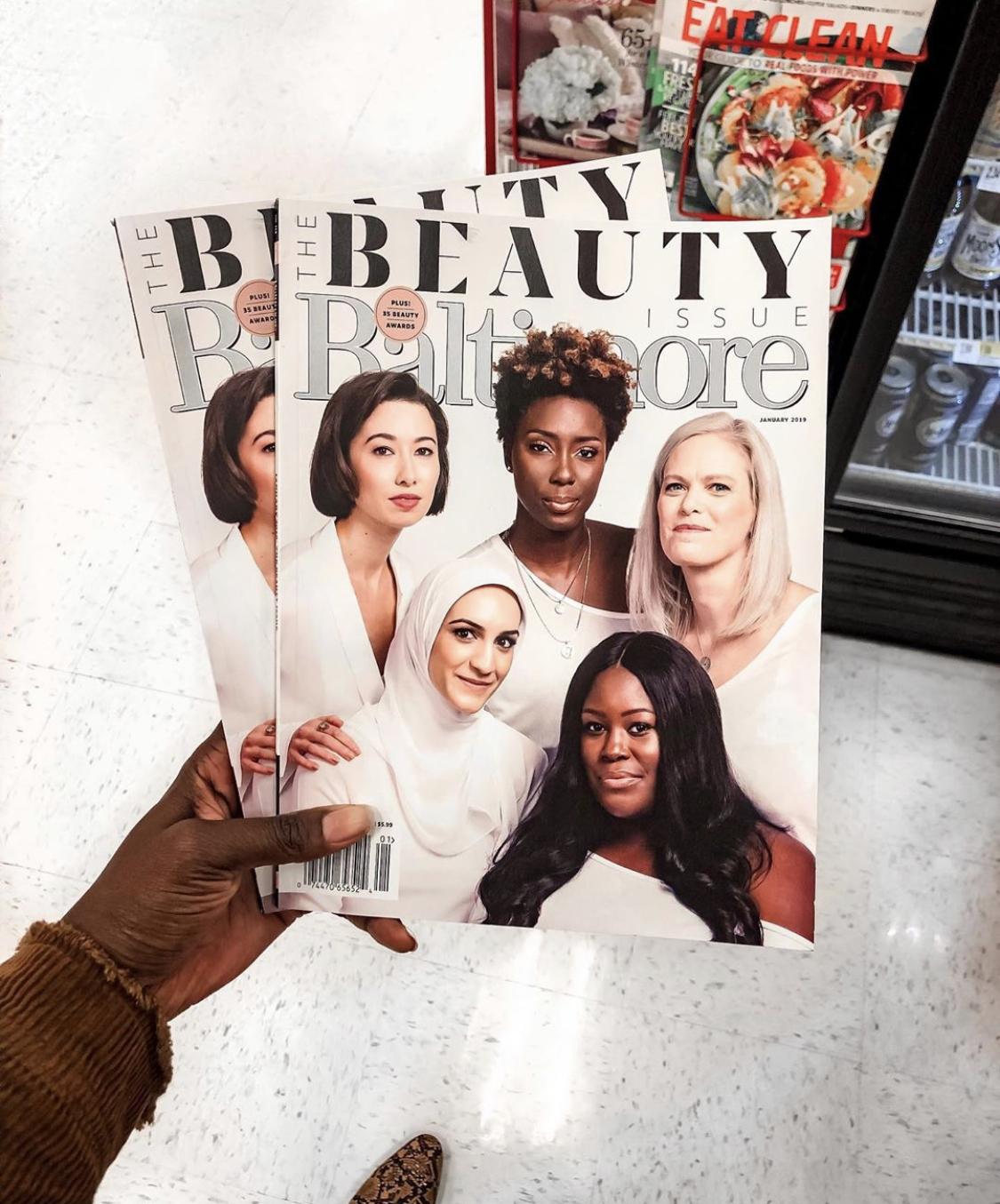 Baltimore Magazine Cover Feature