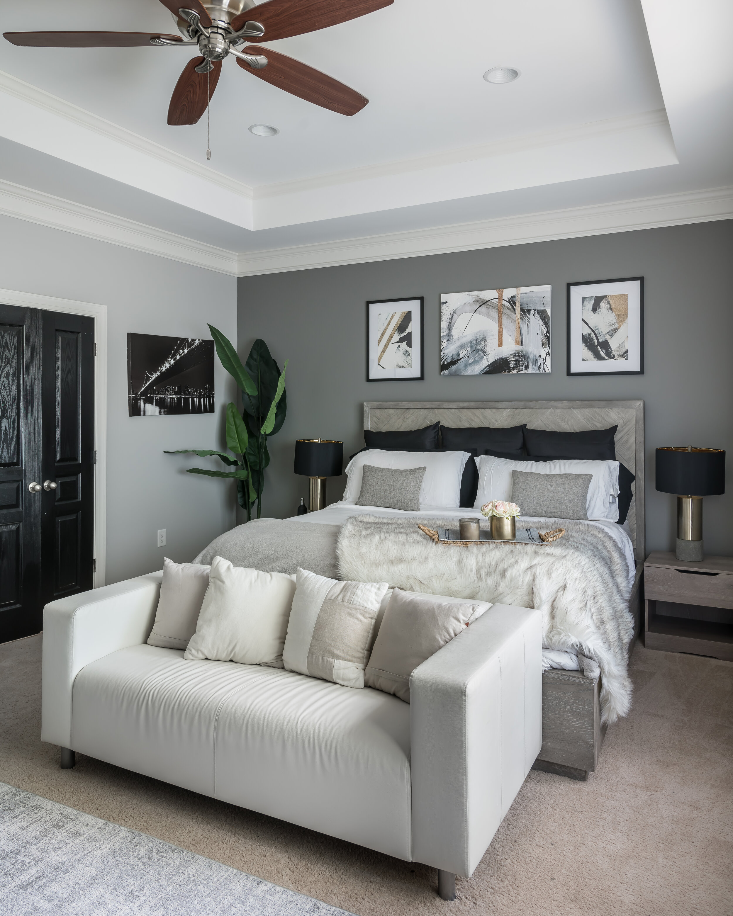 Master Bedroom Decor Details Dayna Bolden