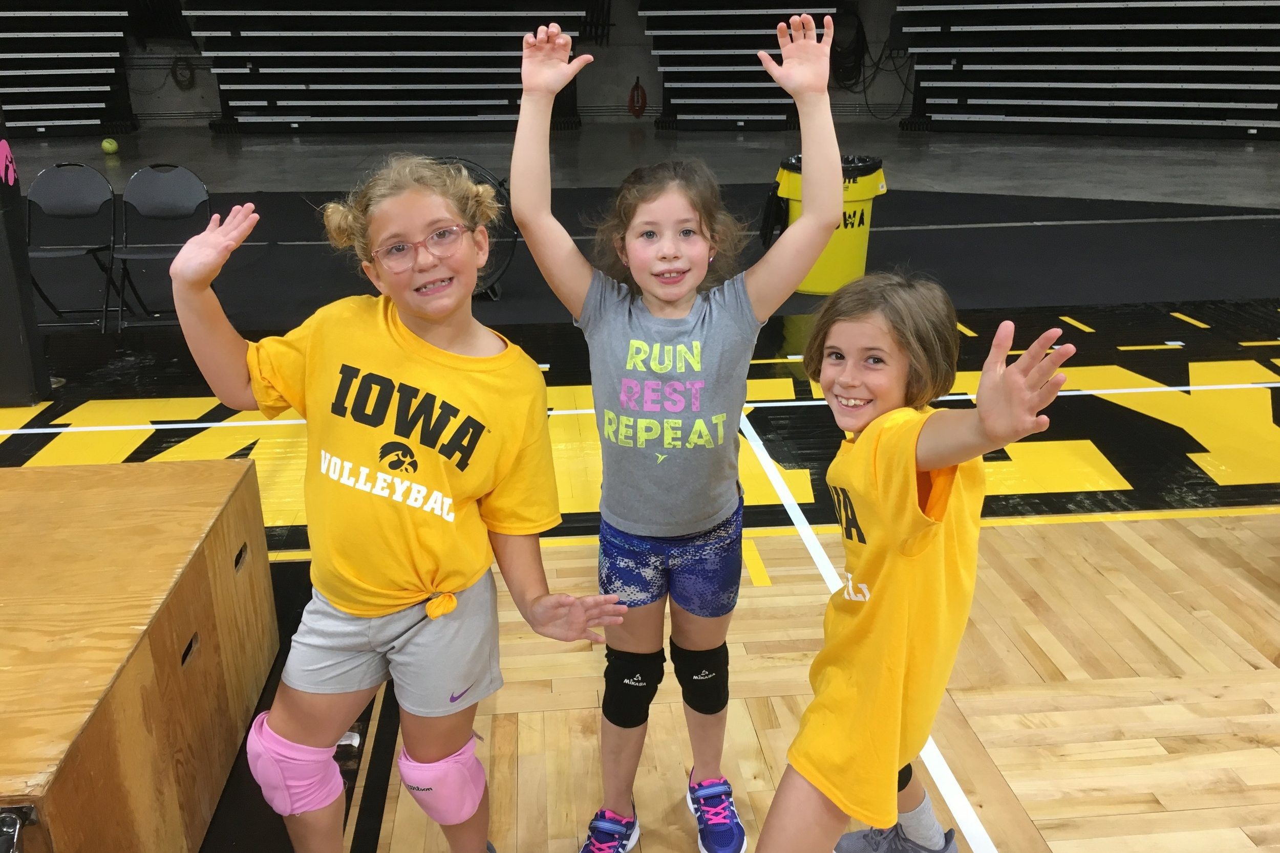 LIL' VOLLEYHAWKS CAMP - (2ND - 4TH GRADE)