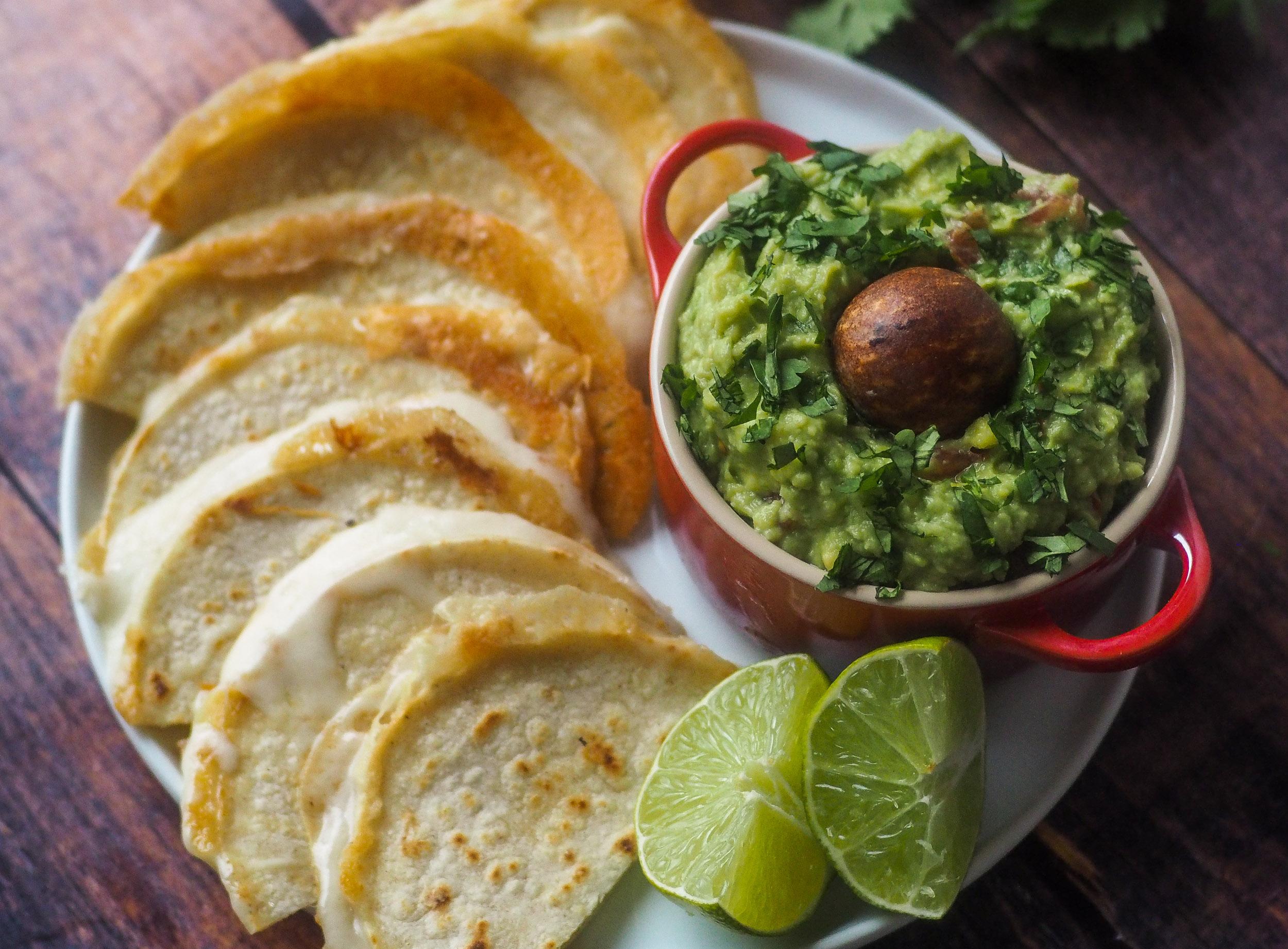 Guacamole and Quesadillas