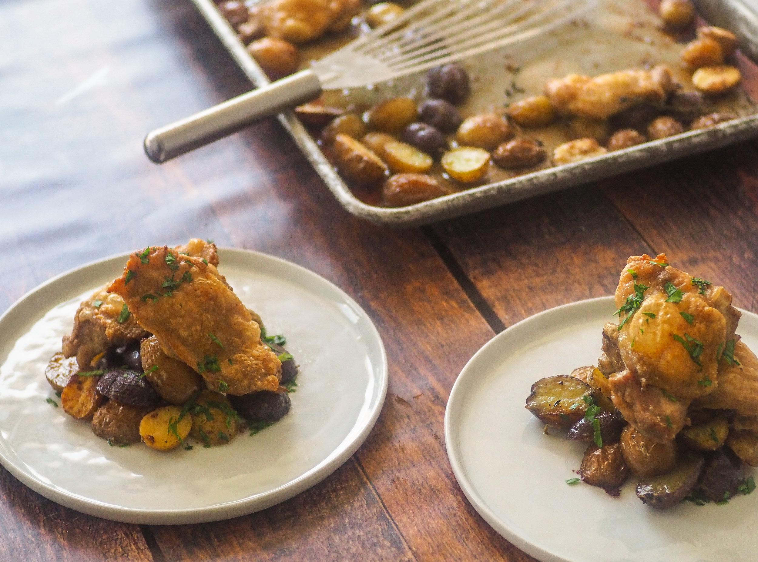 Sheet-Pan Unfried Chicken