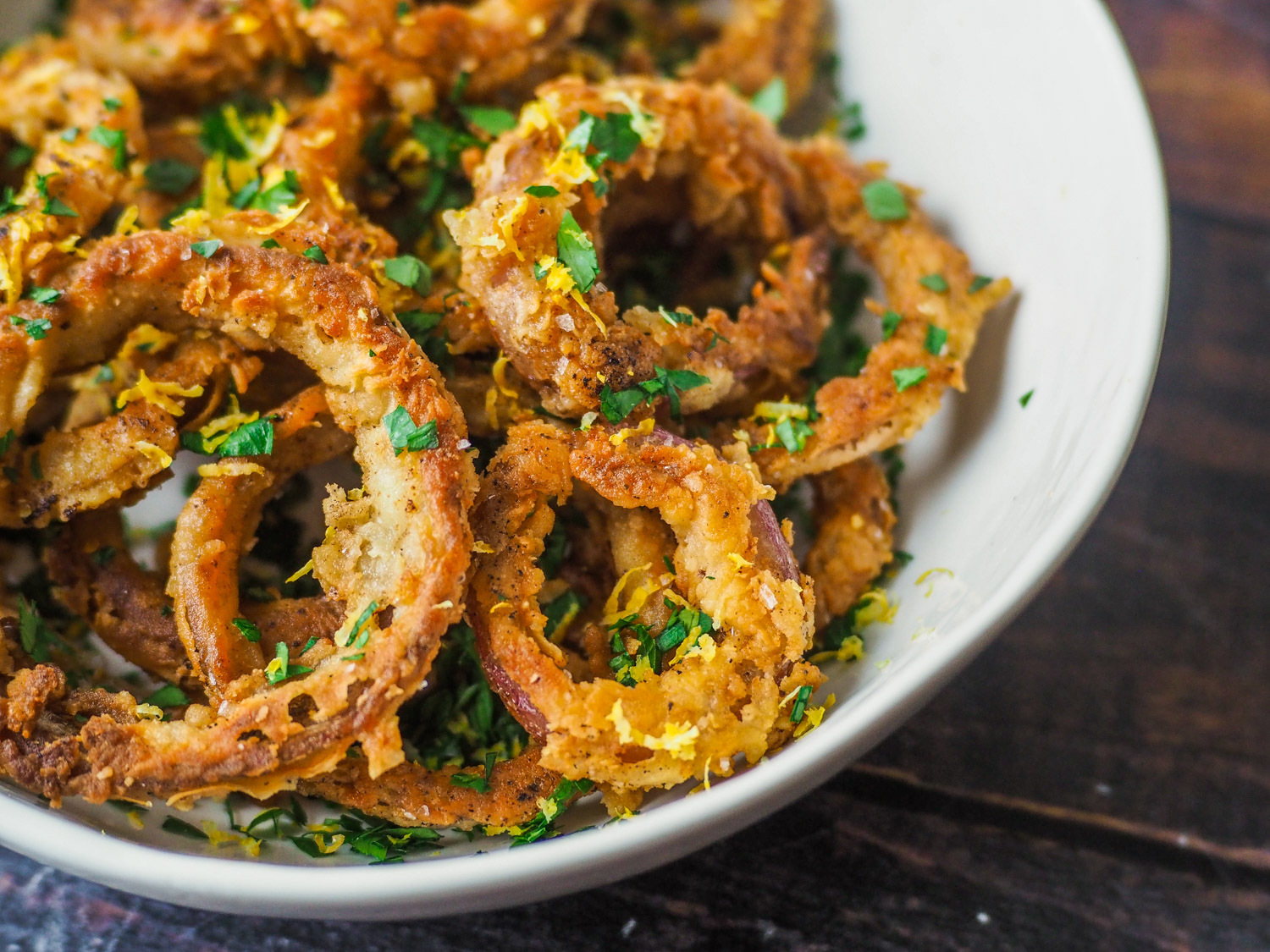 Brown Butter Onion Rings