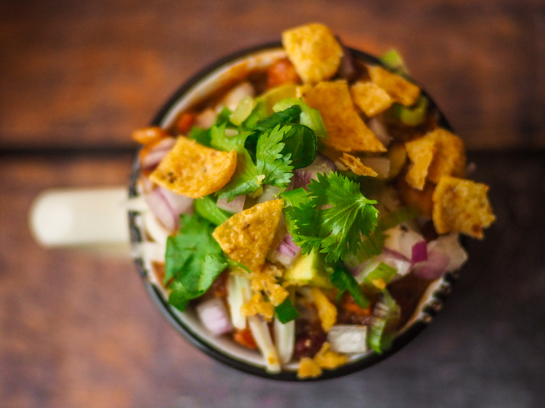 Vegetarian Tex-Mex Chili