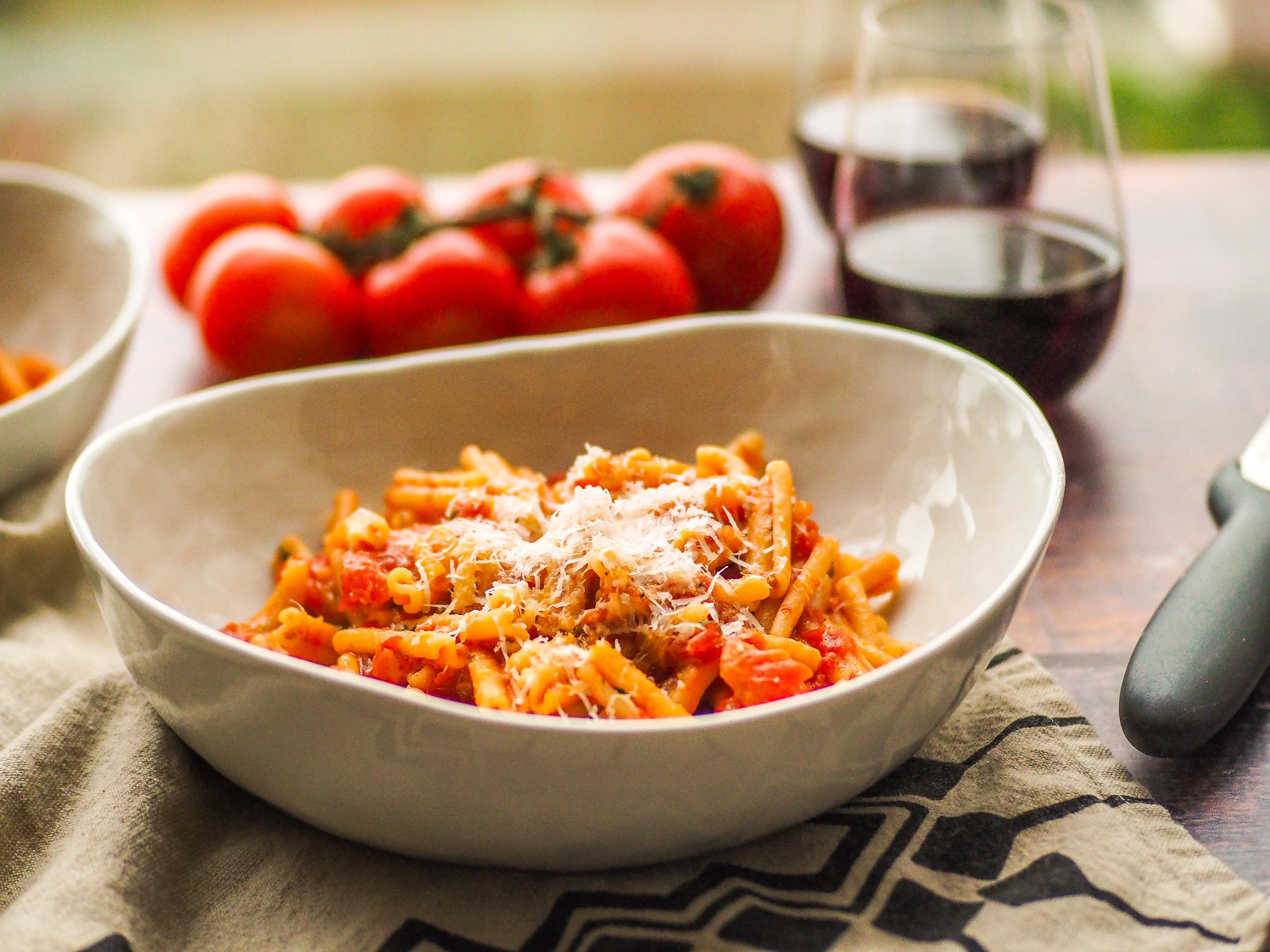 Roasted Tomato Pasta Pomodoro