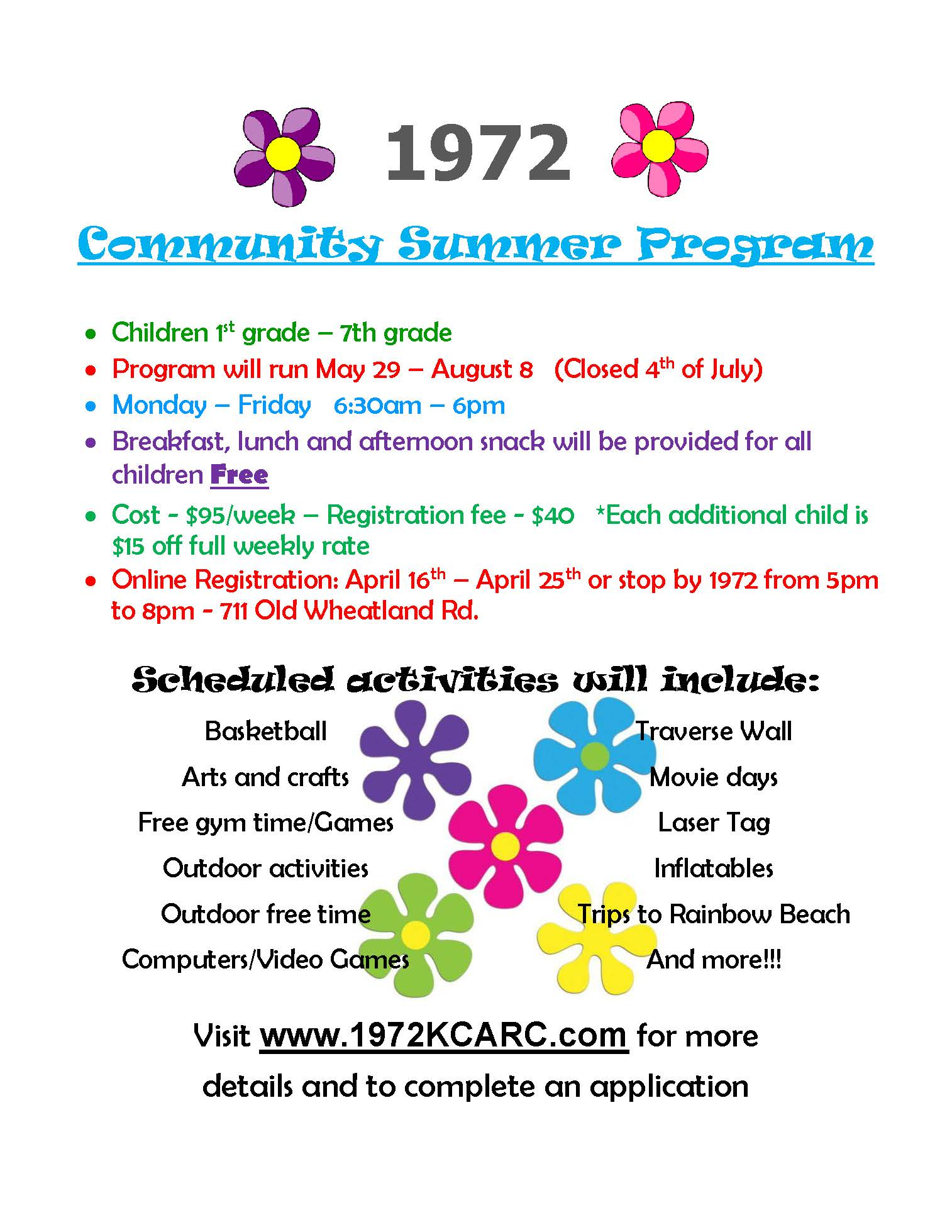 1972 Summer Program flier.jpg
