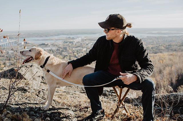 Fun fact: The new camp stool carrying strap can double as a dog leash if needed🔥link in bio  #builtforadventure