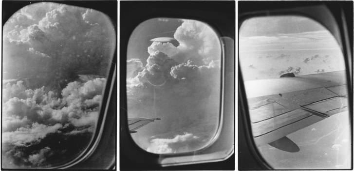 Zoe Leonard, untitled airplane windows, 1989. Courtesy Galerie Gisela Capitain, Cologne, and Hauser & Wirth.