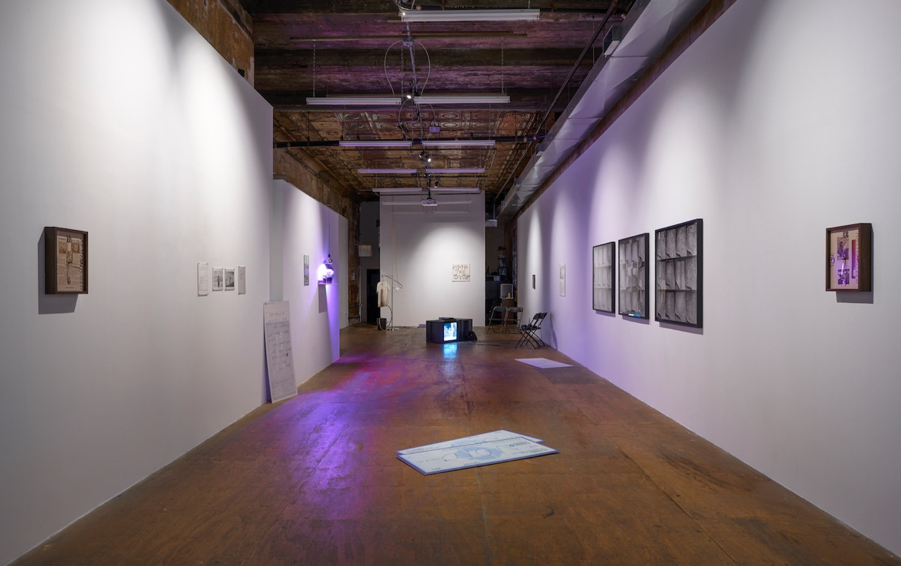 A New Job to Unwork At , installation view. Photograph by Mark Waldhauser.
