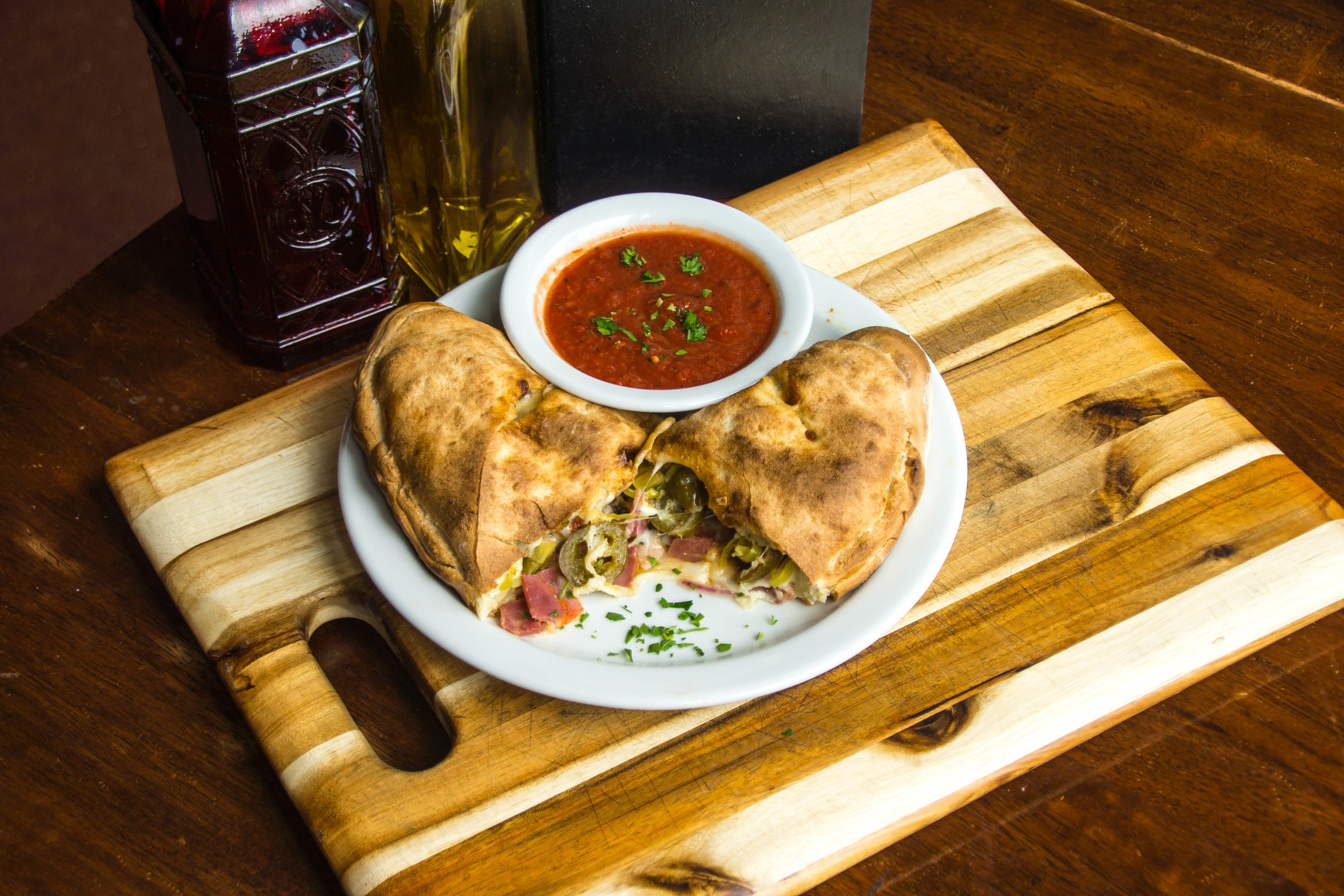 Hot N' Spicy Calzone