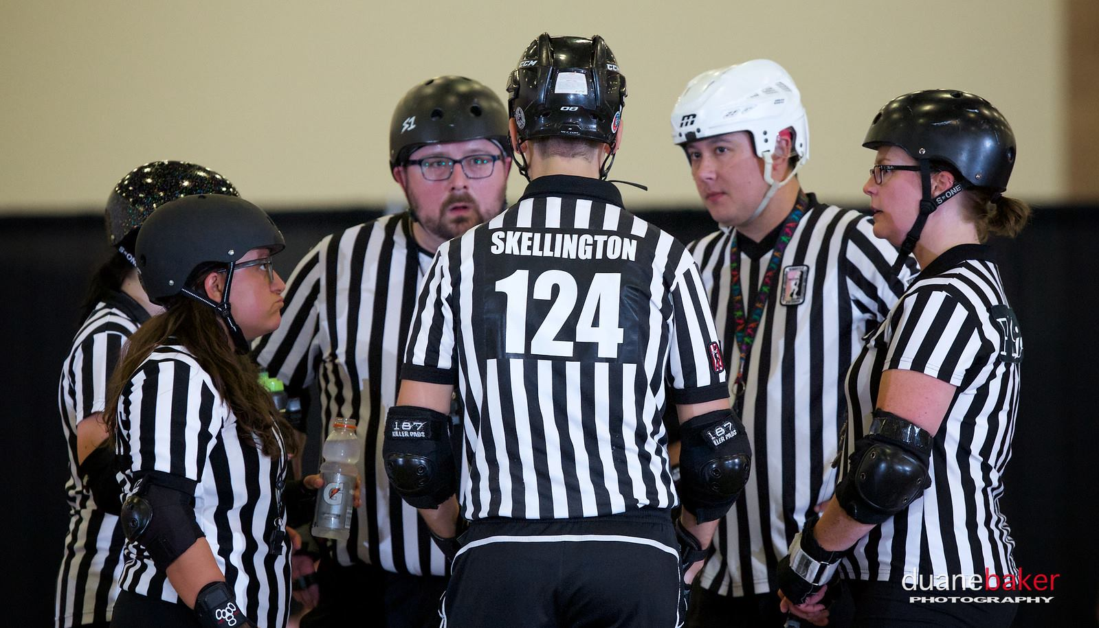 Thank you officials - Photo by Duane Baker Photography
